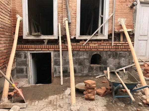 بخشی از مرمت خانه تاریخی رئیسی در اردبیل به اتمام رسید