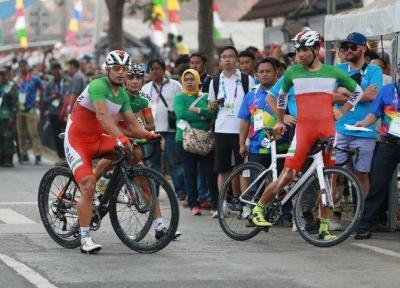 ناکامی دوچرخه سواری ایران در استقامت جاده بازیهای آسیایی، هشتمی صفرزاده بهترین صندلی ایران