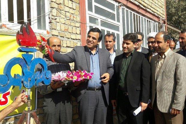 طرح گازرسانی به 14 روستای شهرستان سلسله بهره برداری شد