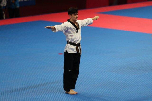 سلمانی قهرمان پومسه دنیا شد، سومین طلای ایران در چین تایپه