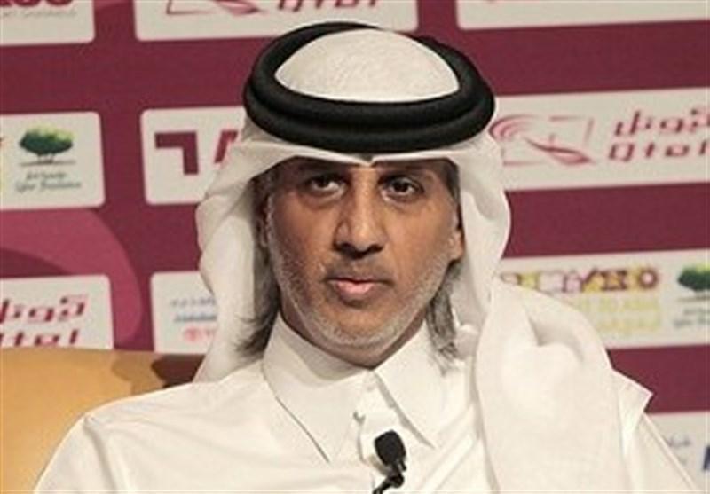 رئیس فدراسیون قطر تماشاگر ویژه فینال لیگ قهرمانان، مذاکره با فدراسیون ایران برای میزبانی جام جهانی 2022