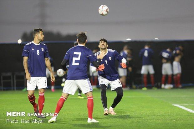 حضور گسترده خبرنگاران چینی در تمرین تیم ملی فوتبال ایران