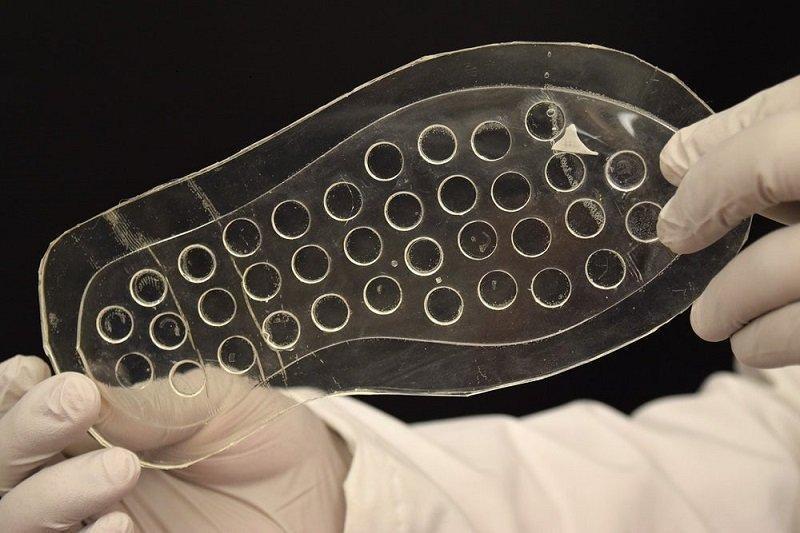 ابداع کفش سیلیکونی برای درمان زخم دیابتی