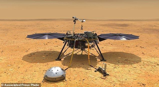 اینسایت آماده فرود بر سطح مریخ