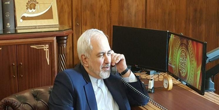 گفت وگوی تلفنی ظریف با همتای کویتی