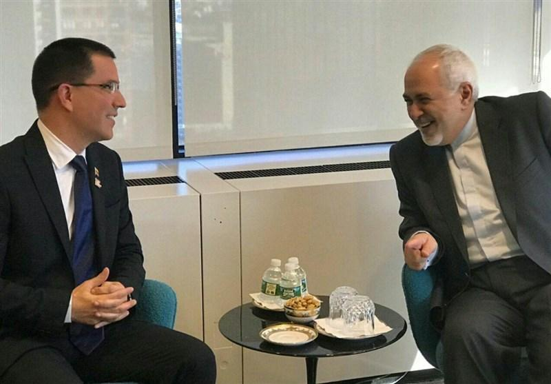 دیدار ظریف با وزیر خارجه ونزوئلا در نیویورک