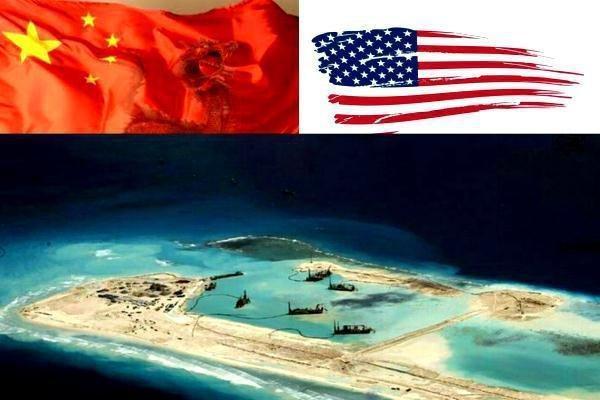 عبور رزم ناو آمریکایی از خط قرمز چین