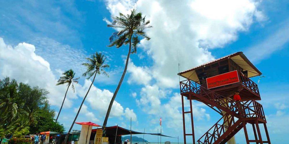 ساحل باتو فرینگی، بهترین ساحل جزیره پنانگ مالزی