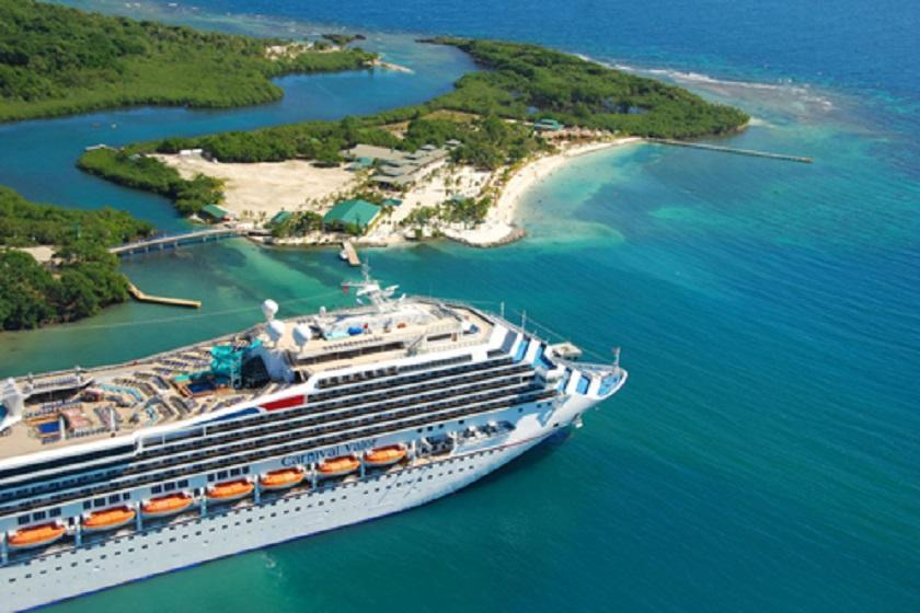 تورهای کشتی کروز شمار گردشگران بلیز را افزایش داده است