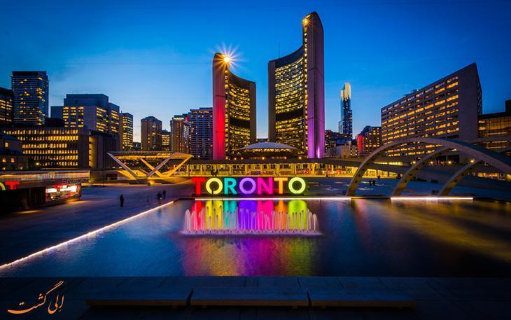 چطور از فرودگاه پیرسون تورنتو کانادا به مرکز شهر برویم؟