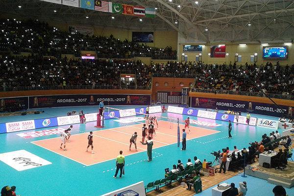 تیم والیبال چین بر پاکستان پیروز شد، غلبه چین تایپه بر تایلند