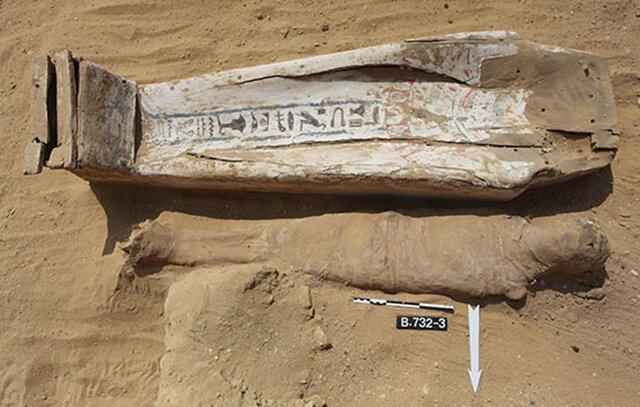 کشف چندین مومیایی مصری در نزدیکی قدیمی ترین هرم جهان