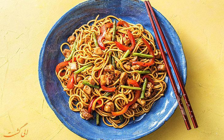 آشنایی با معروف ترین غذاهای چینی