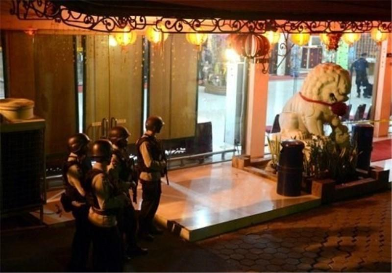 انفجار بمبی در معبد بودائیان در اندونزی