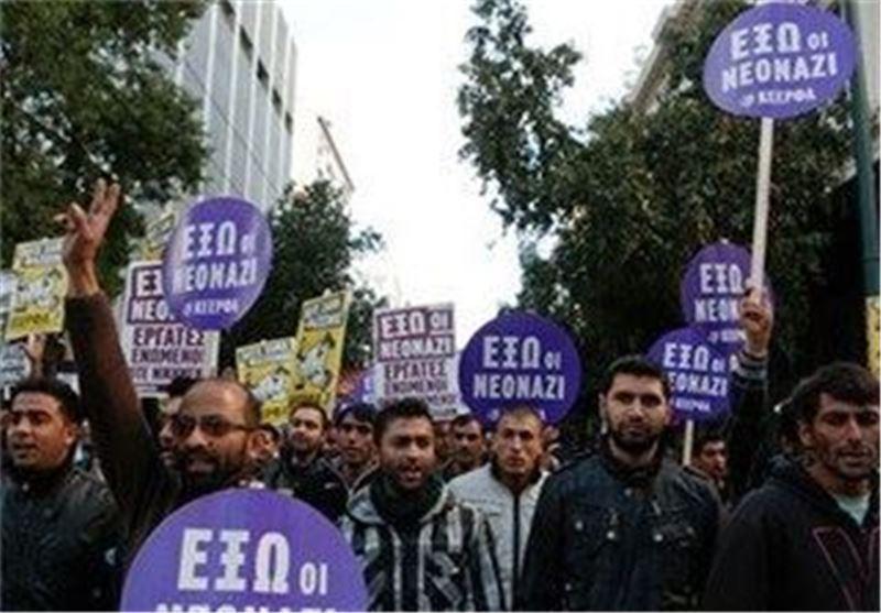 تظاهرات گسترده ضد دولتی در یونان