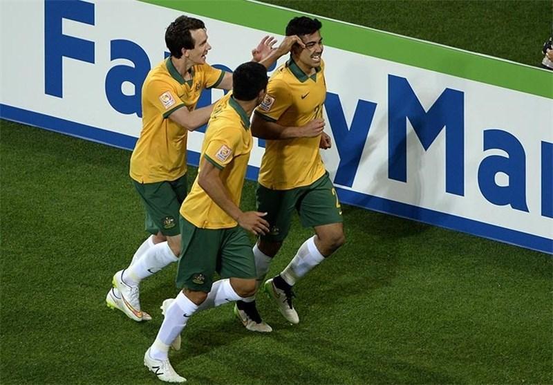 پیروزی یک نیمه ای استرالیا، عمان و کویت را در آستانه حذف قرار داد
