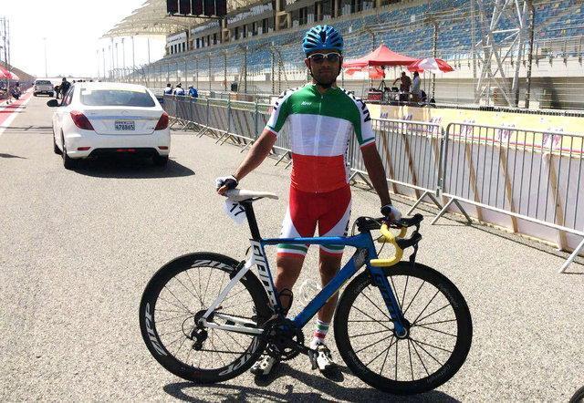 نایب قهرمانی گنج خانلو در مرحله سوم تور دوچرخه سواری چین