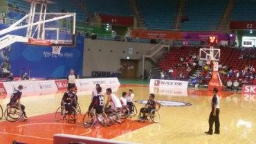 پیروزی بسکتبال با ویلچر ایران مقابل هنگ کنگ