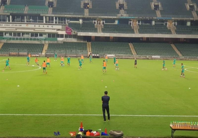 برگزاری آخرین تمرین تیم ملی پیش از دیدار مقابل هنگ کنگ