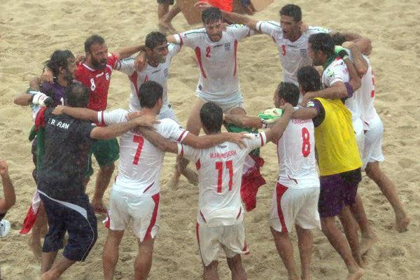 تیم ملی فوتبال ساحلی ایران برابر تایلند به پیروزی رسید