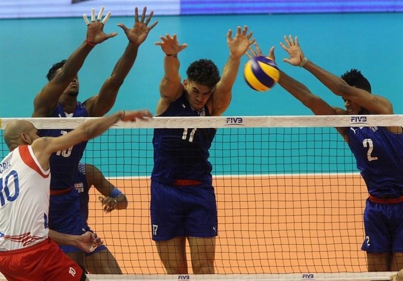 تیم های والیبال کوبا و آمریکا به فینال نورسکا رسیدند