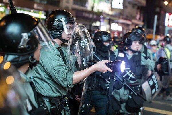استفاده پلیس هنگ کنگ از هوش مصنوعی برای شناسایی معترضان