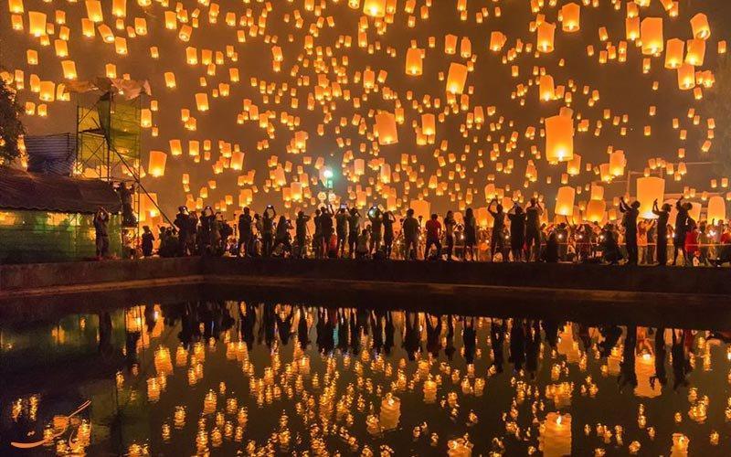 در جشن نور یی پنگ، در تورهای پاییزه تایلند شرکت کنید
