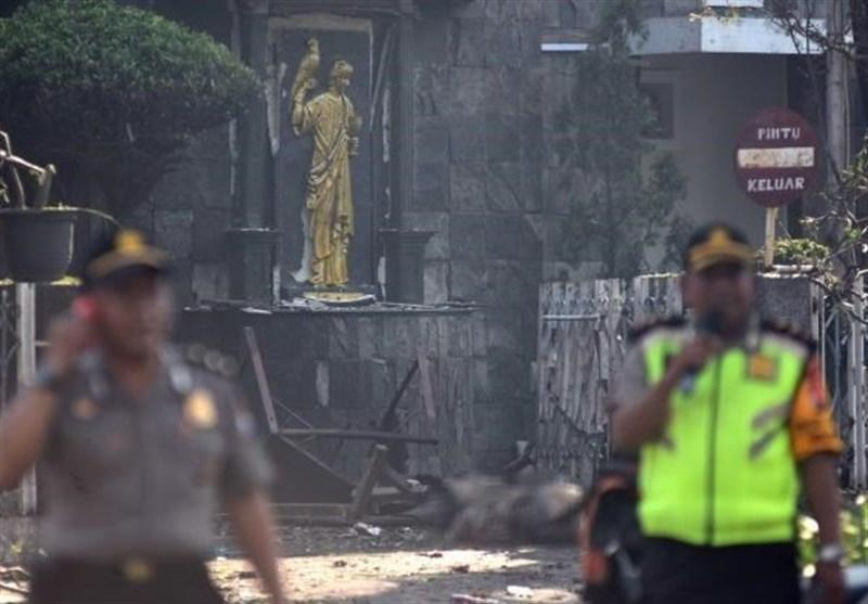کشته شدن 6 نفر در حمله انتحاری به کلیساهای اندونزی
