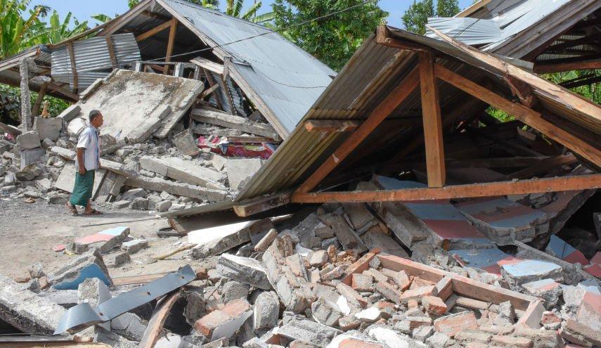 وقوع زلزله شدید در اندونزی