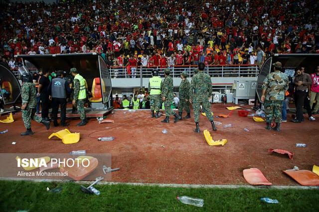 آسیب شناسی خشونت و پرخاشگری در استادیوم های ایران