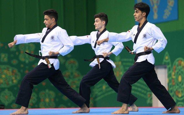 شروع تمرینات تیم ملی پومسه مردان برای مسابقات آسیایی ویتنام