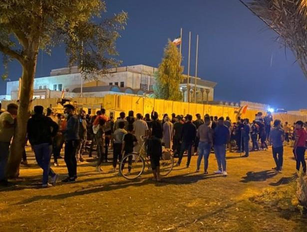 دم خروس حمله کنندگان به کنسولگری ایران در کربلا بیرون زد!