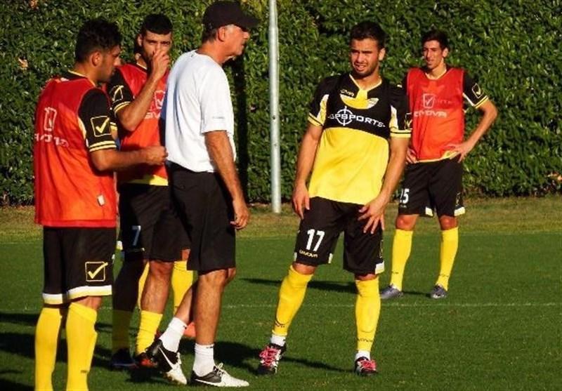 آخرین تمرین تیم ملی فوتبال در ایتالیا به روایت تصویر