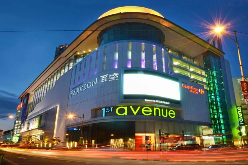 مراکز خرید پنانگ مالزی
