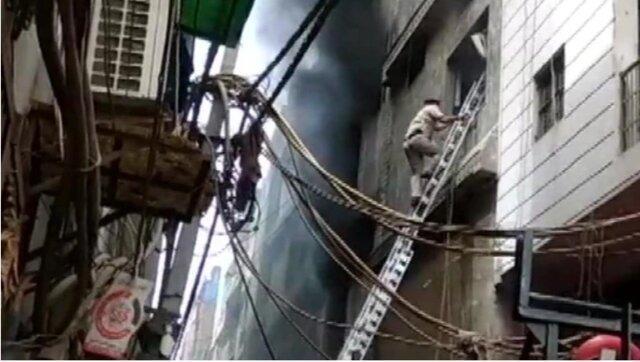 43 کشته در حریق کارخانه ای در هند