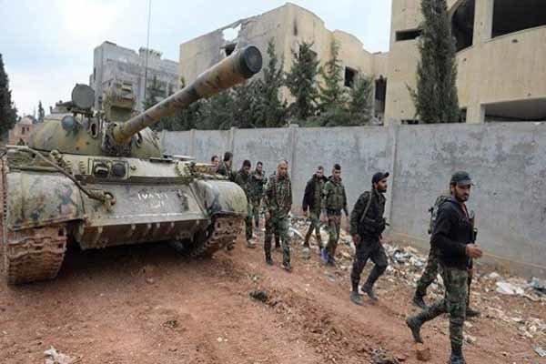 درگیری ارتش سوریه با تکفیری ها، هلاکت شماری از عناصر داعش