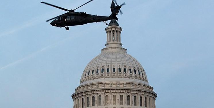 مأموریت سری بالگردهای ارتش آمریکا بر فراز واشنگتن