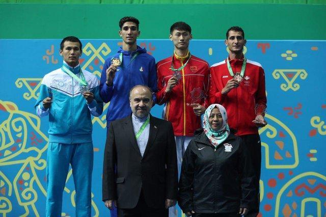 2 طلای تکواندو در بازیهای داخل سالن آسیا، اسحاقی و جلالی قهرمان شدند