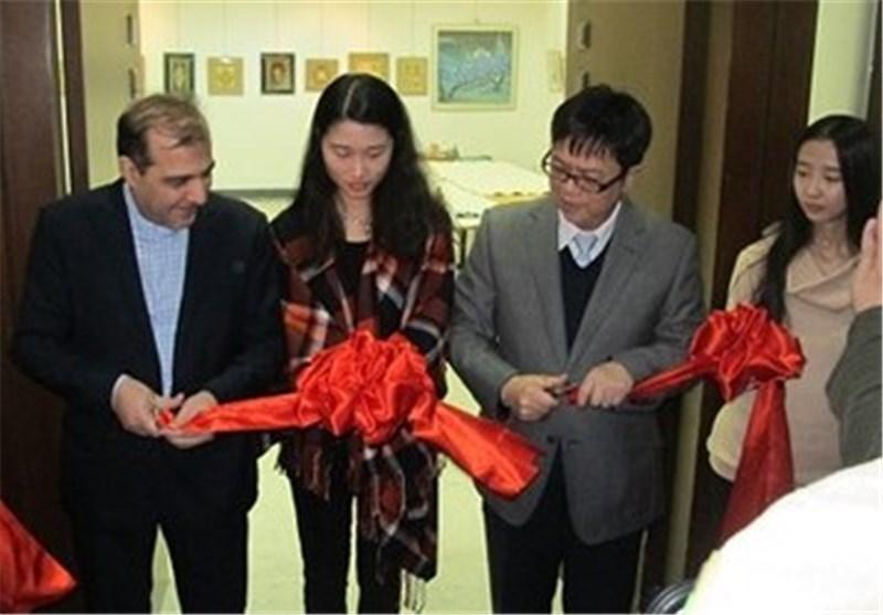 برگزاری نمایشگاه مشترک نگارگری ایران و چین در دانشگاه پکن