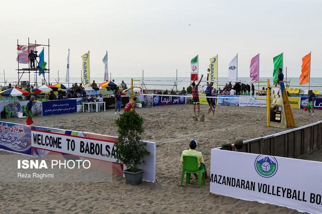 خاتمه تور جهانی والیبال ساحلی درگهان با قهرمانی ایران