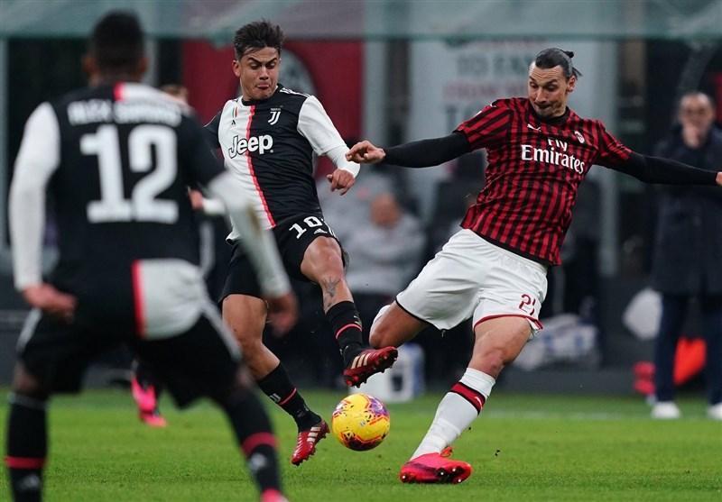 جام حذفی ایتالیا، یوونتوس با پنالتی رونالدو از شکست در زمین میلان گریخت