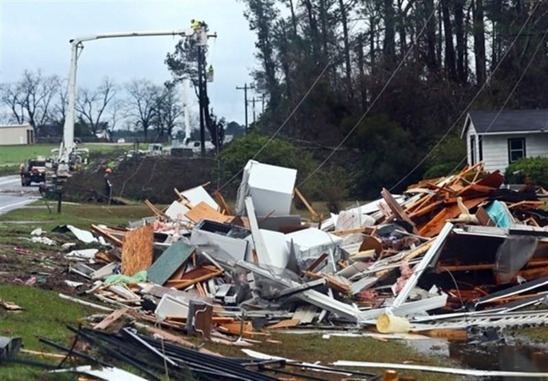 مرگ 6 نفر بر اثر وقوع طوفان سهمگین در آمریکا