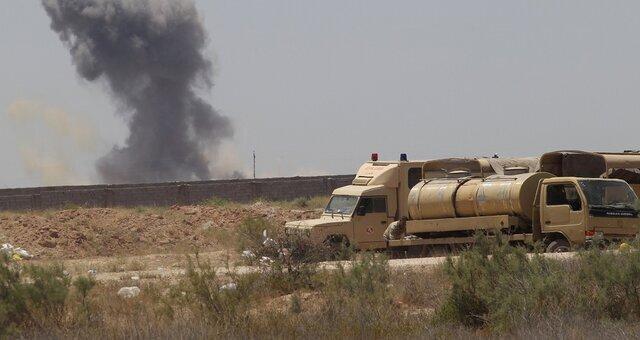 حملات جنگنده های عراقی به مواضع داعش
