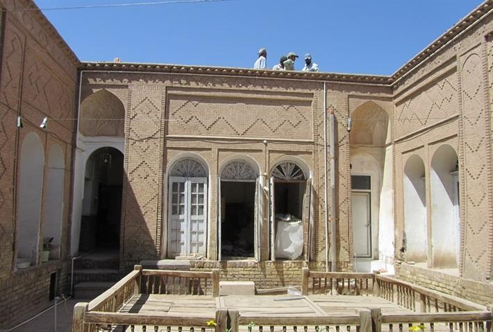 شروع فصل پنجم بازسازی خانه اعظمی در کرمان