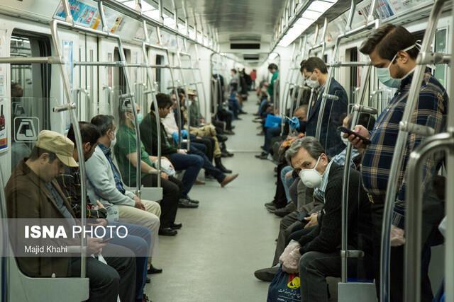 کاهش سرفاصله حرکت قطارهای خط 3 متروی تهران
