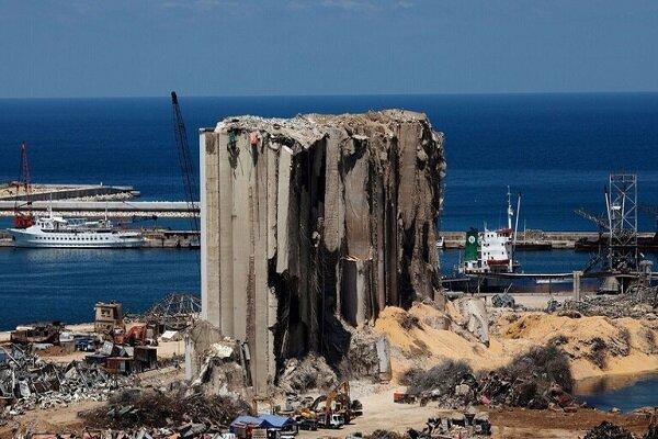 کویت سیلوی گندم ویران شده بندر بیروت را بازسازی می نماید