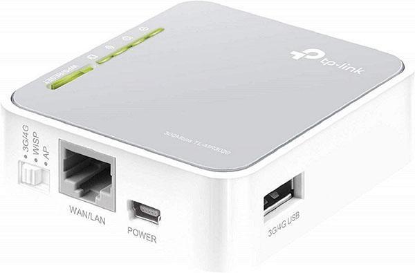 روتر قابل حملی برای راه اندازی هات اسپات وای فای در سفر