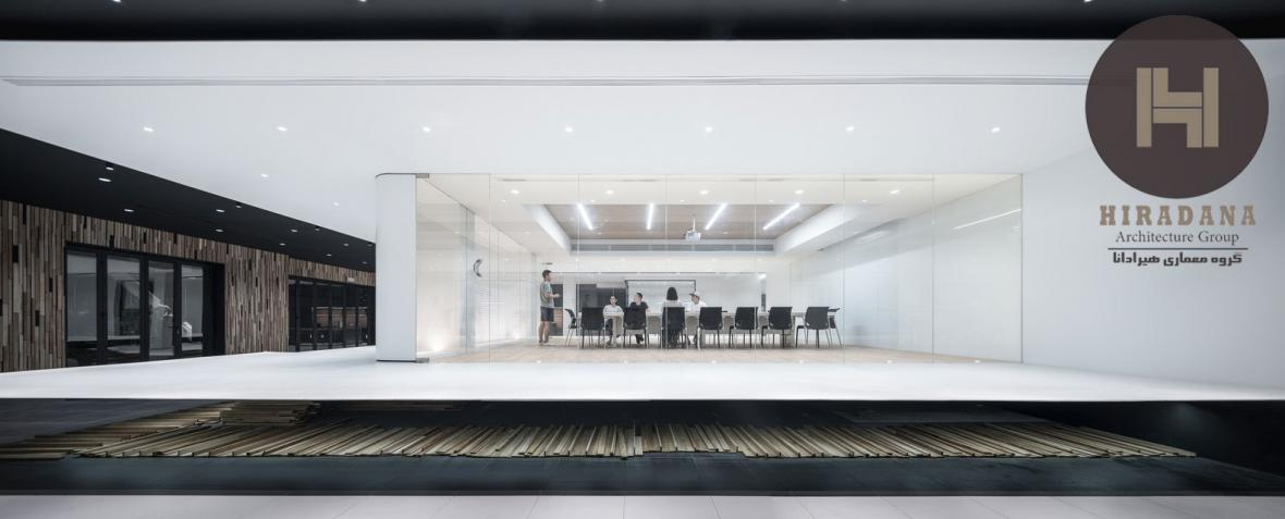 بازسازی و طراحی داخلی اداری بنگاه مالی در دونگوان چین