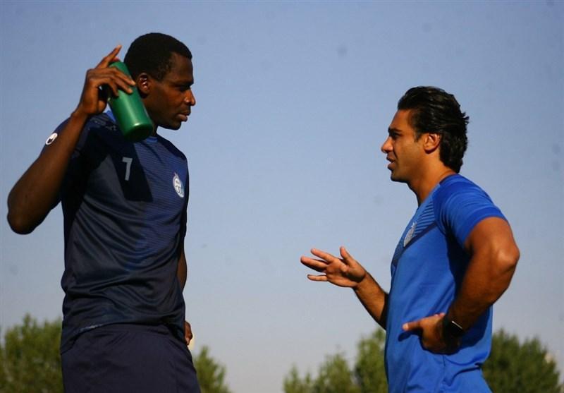 گزارش تمرین استقلال، صحبت های مجیدی با بازیکنان و تمرین دیاباته با آبی پوشان
