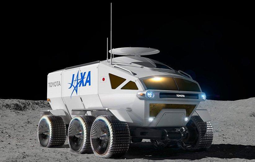لونار کروزر تویوتا نخستین خودروی تحت فشار در ماه خواهد بود